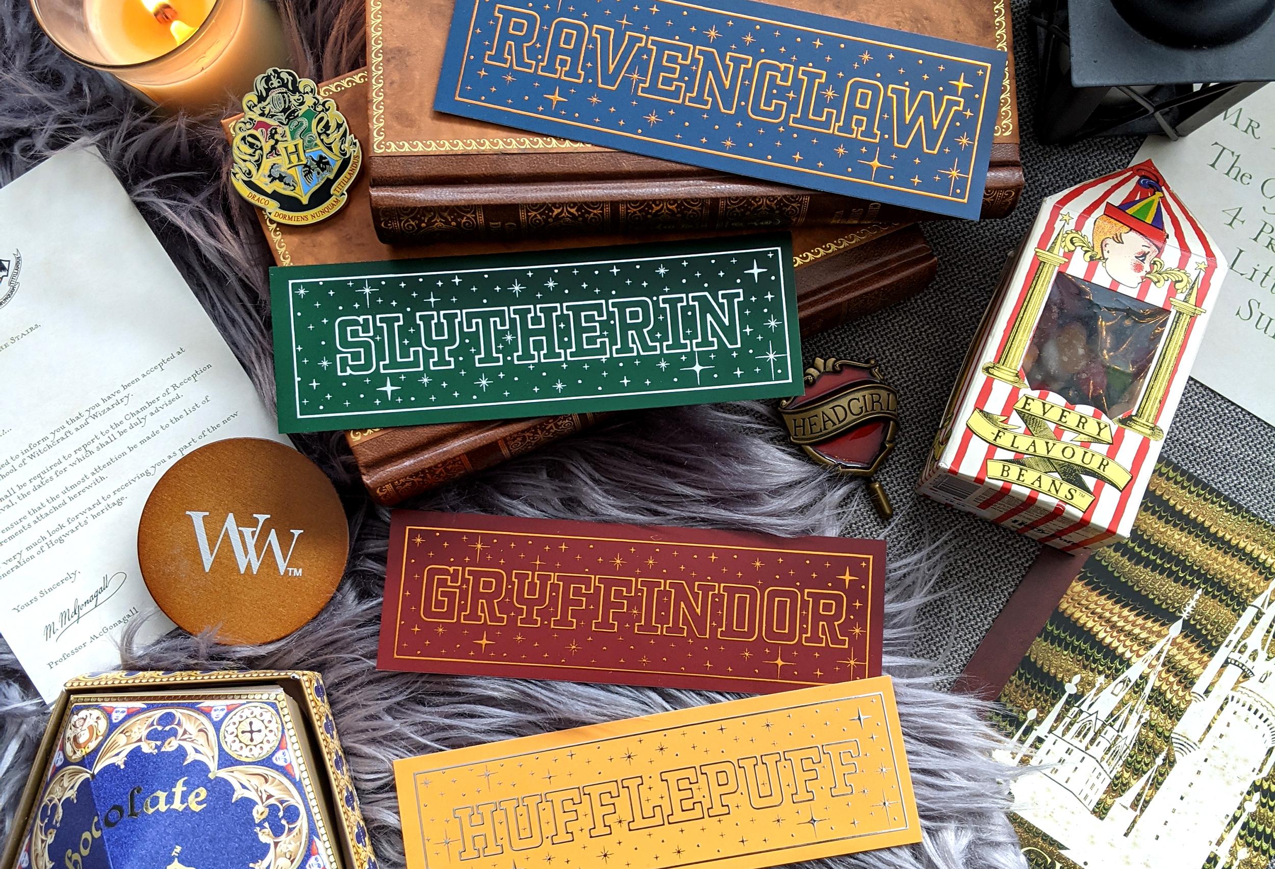Boekenleggers Januari Hogwarts Houses
