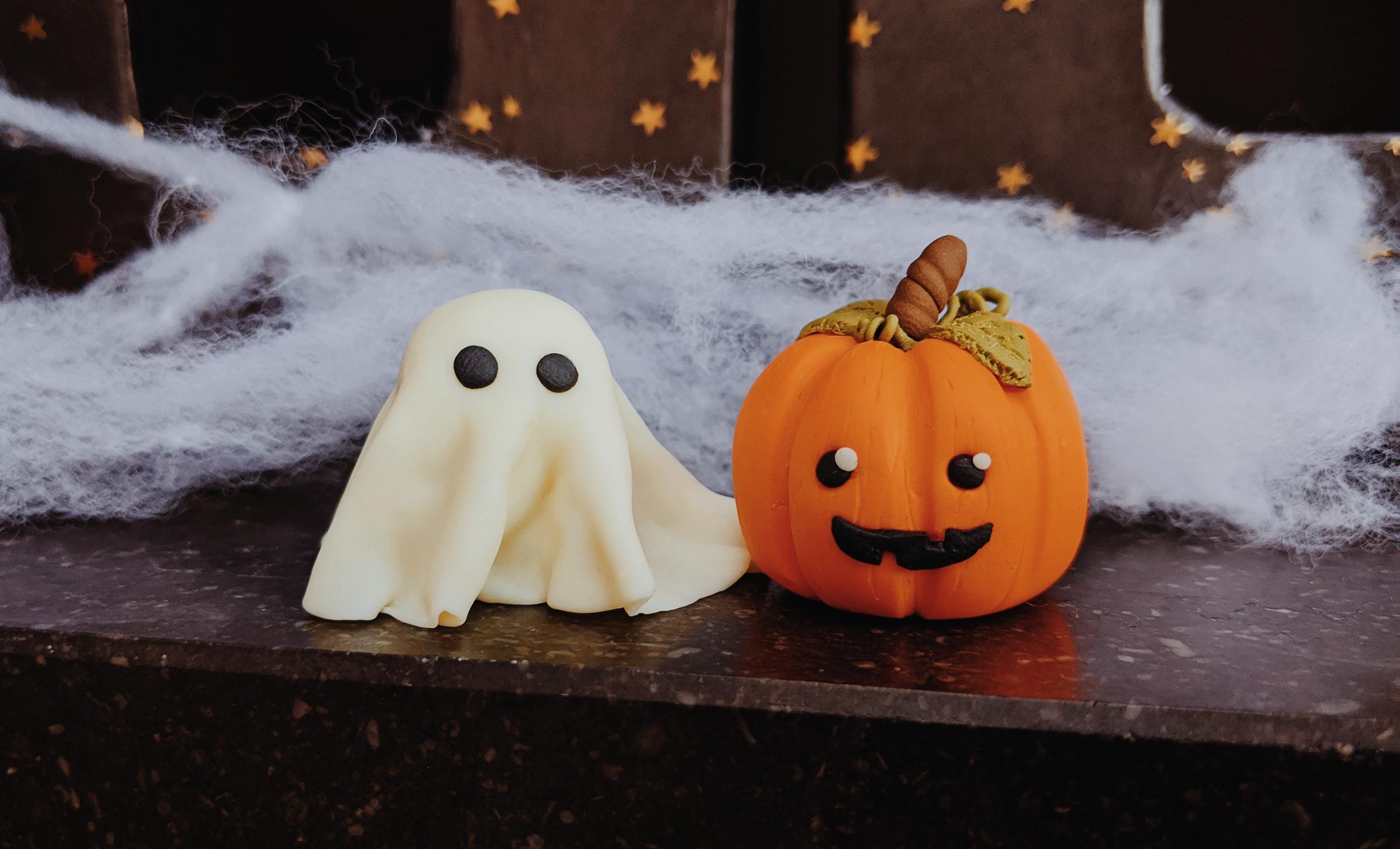 Oktoberdots Fimo klei Halloween figuurtjes