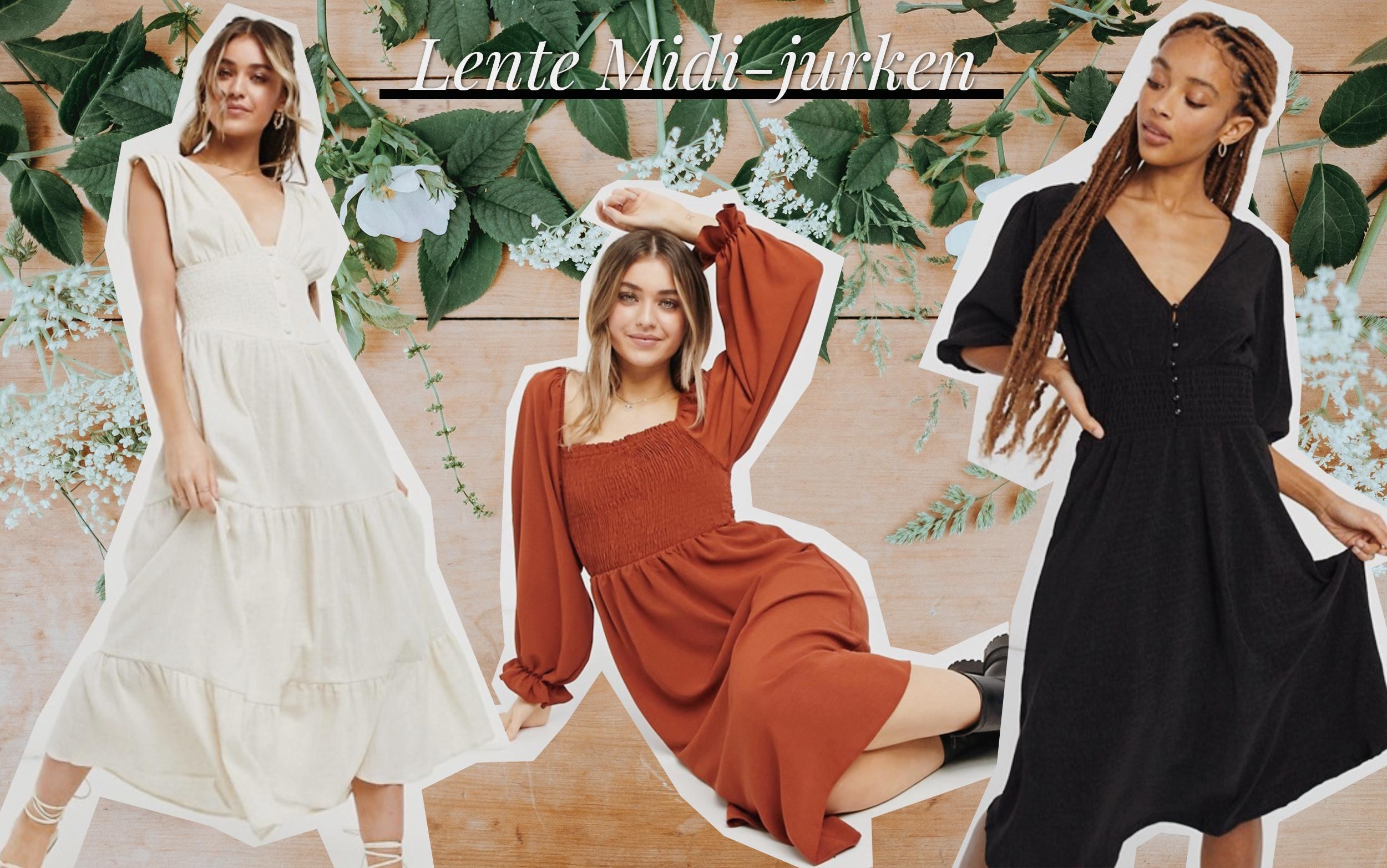 Oktoberdots Mooiste Midi-jurken voor de Lente