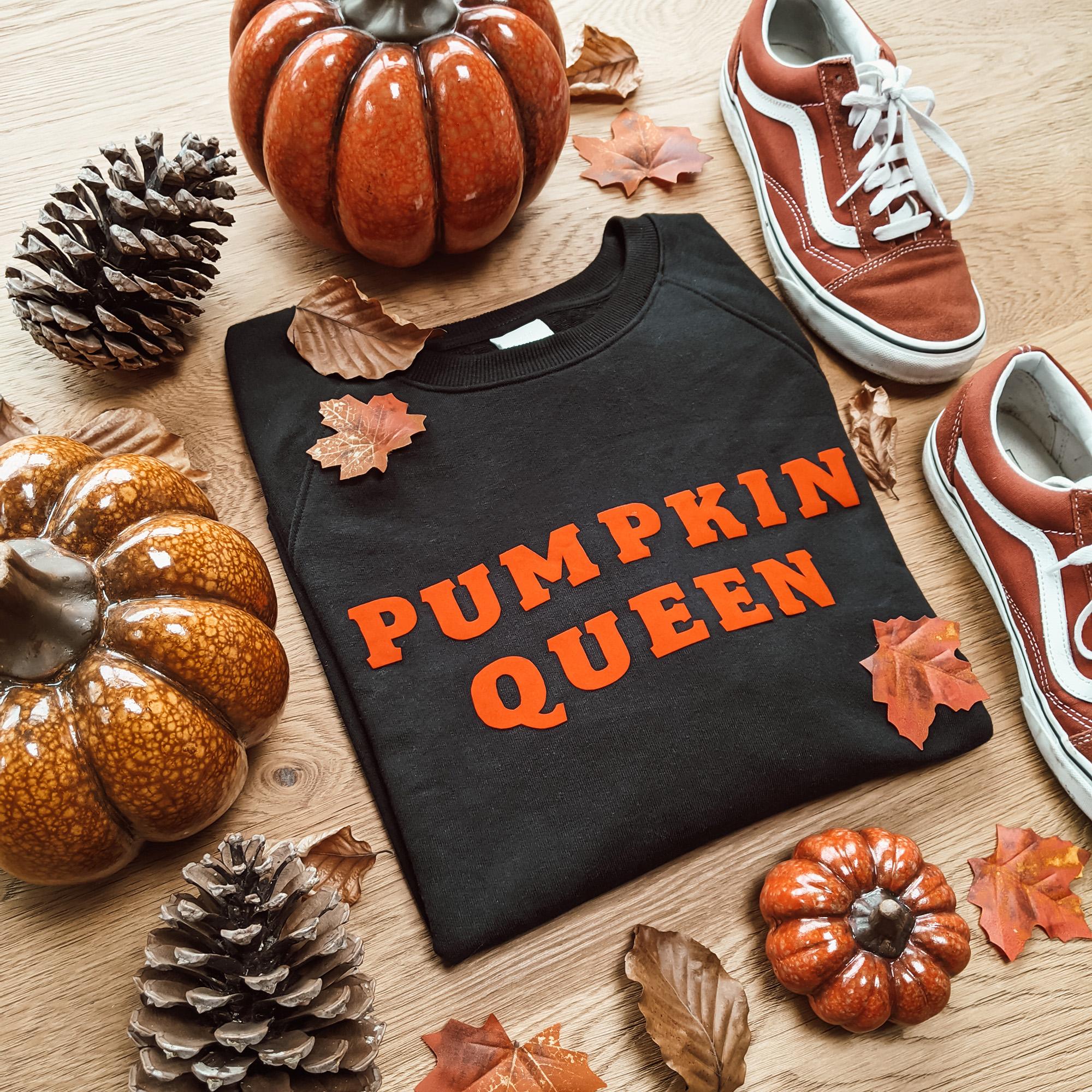 Oktoberdots Pumpkin Queen Sweater