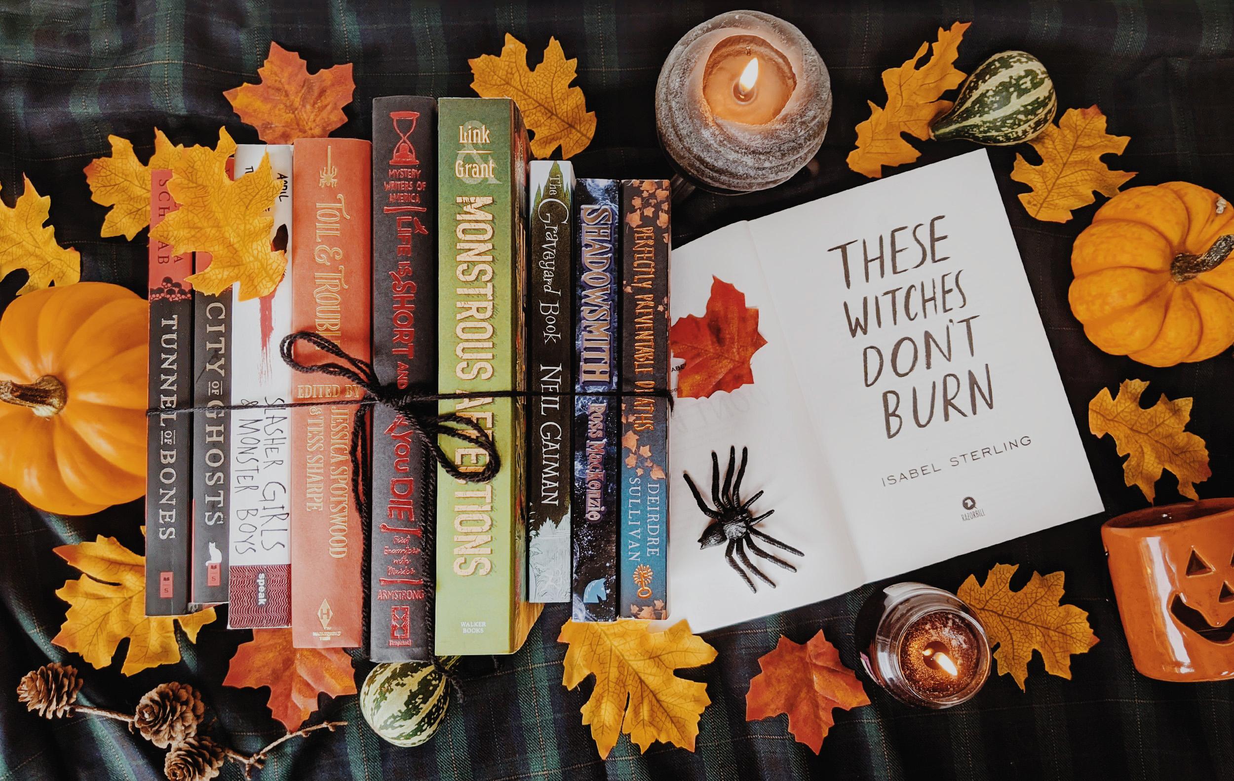 Oktoberdots Young Adult Halloween Boeken