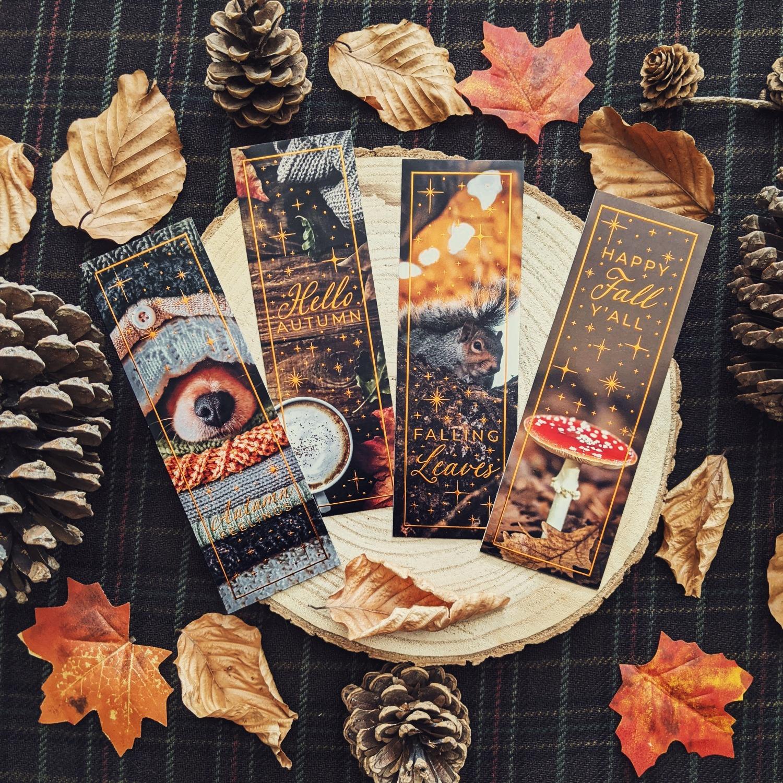 Oktoberdots boekenleggers Herfst Autumn Quotes