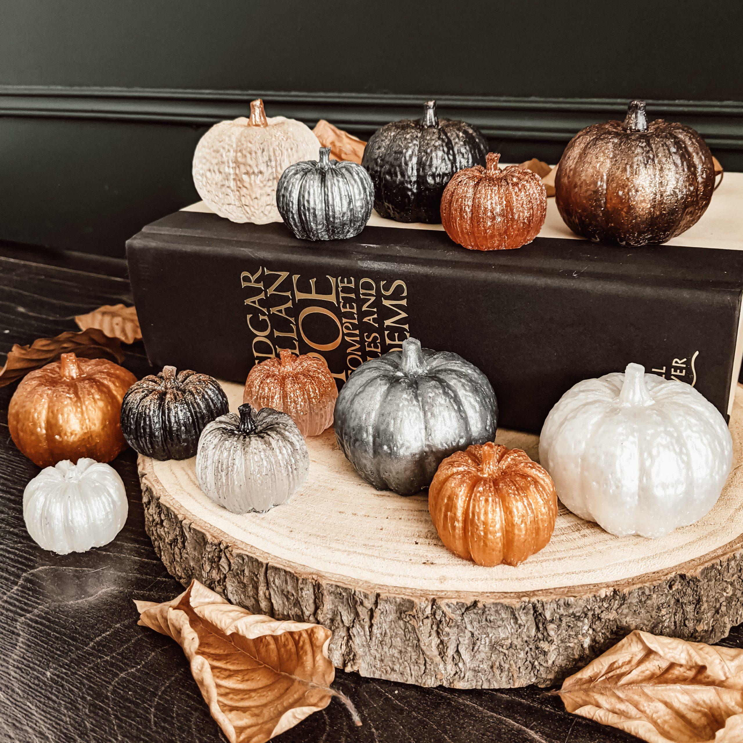 Oktoberdots epoxy pompoentjes maken