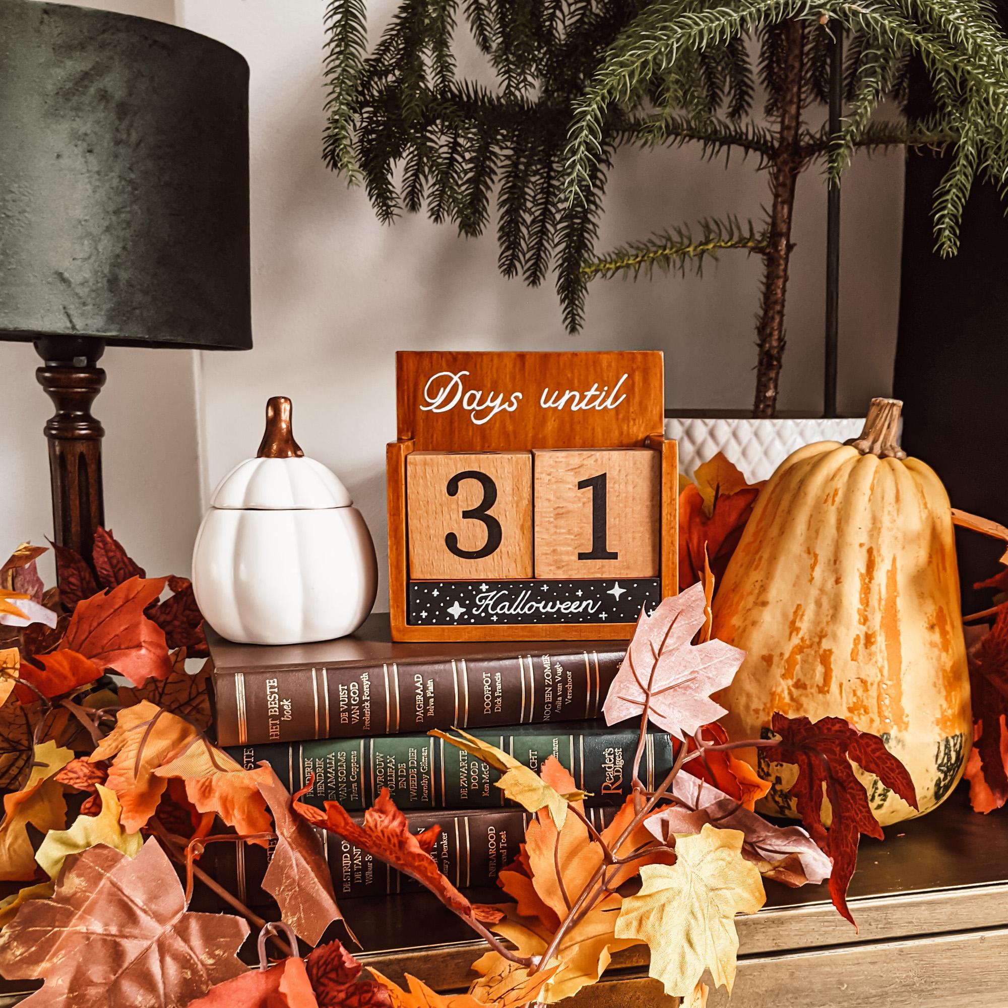 Oktoberdots halloween aftelkalender