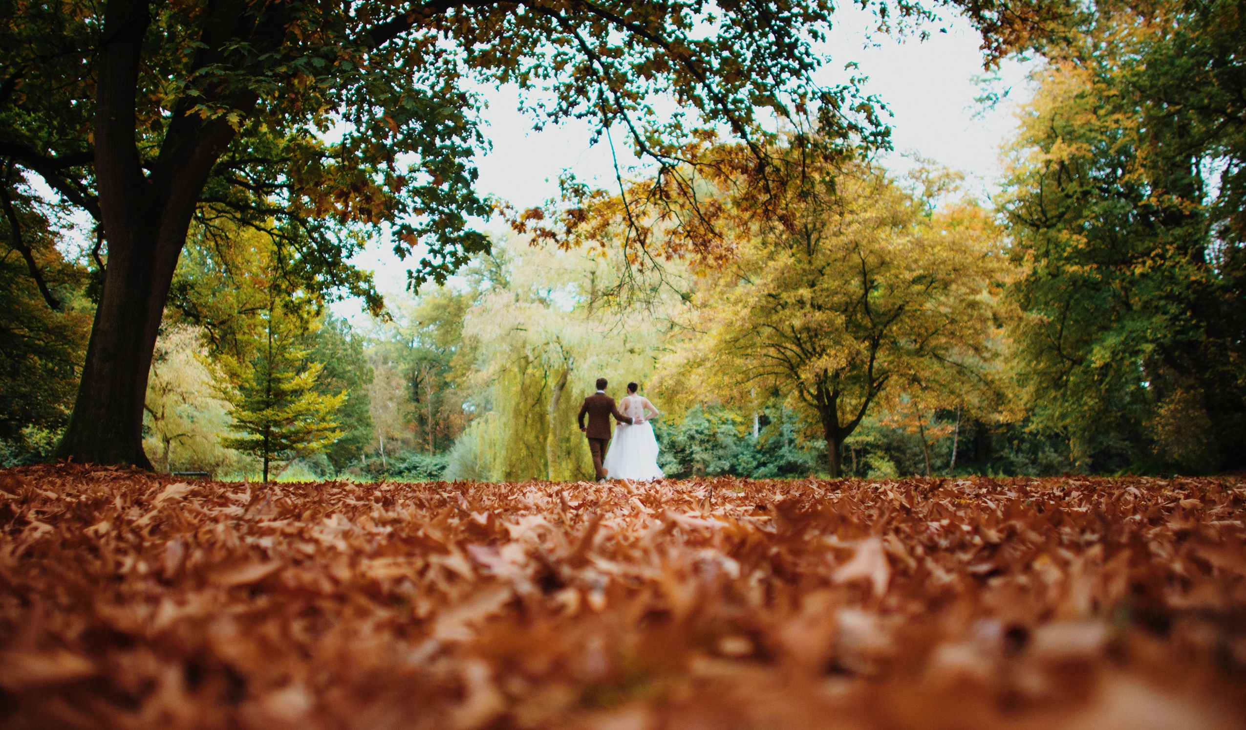 oktoberdots herfst bruiloft