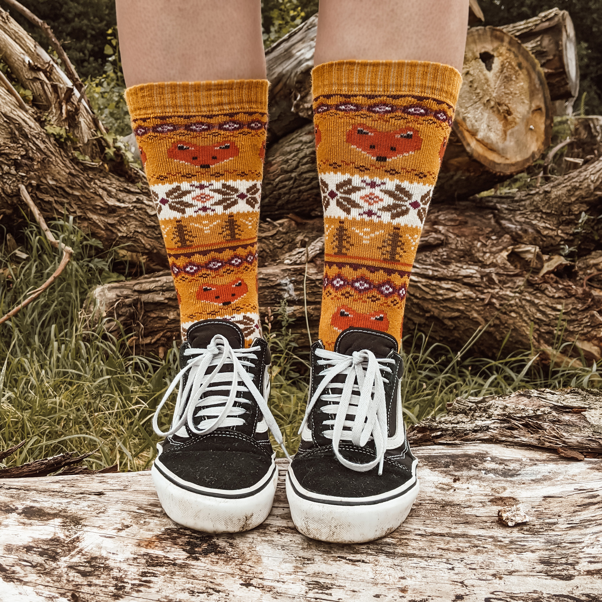Oktoberdots knusse herfst sokken 2021