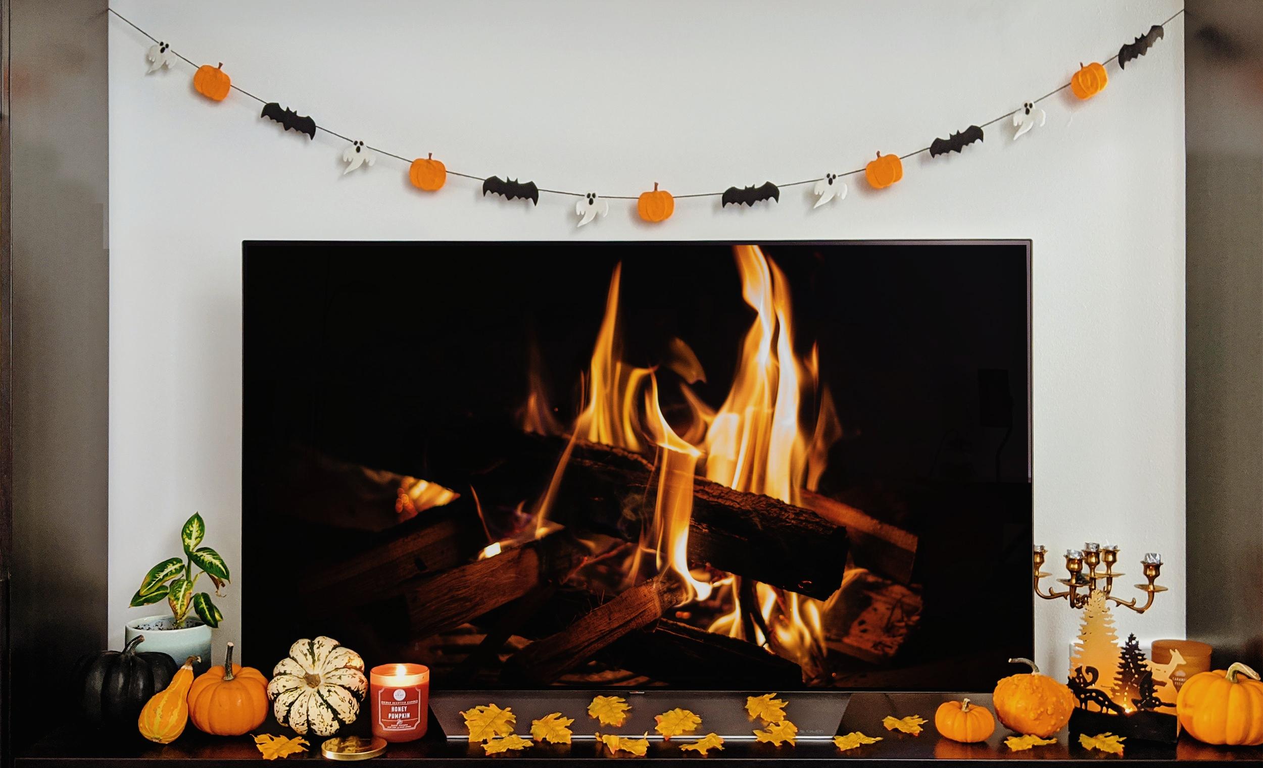 oktoberdots DIY Halloween Slinger pompoenen