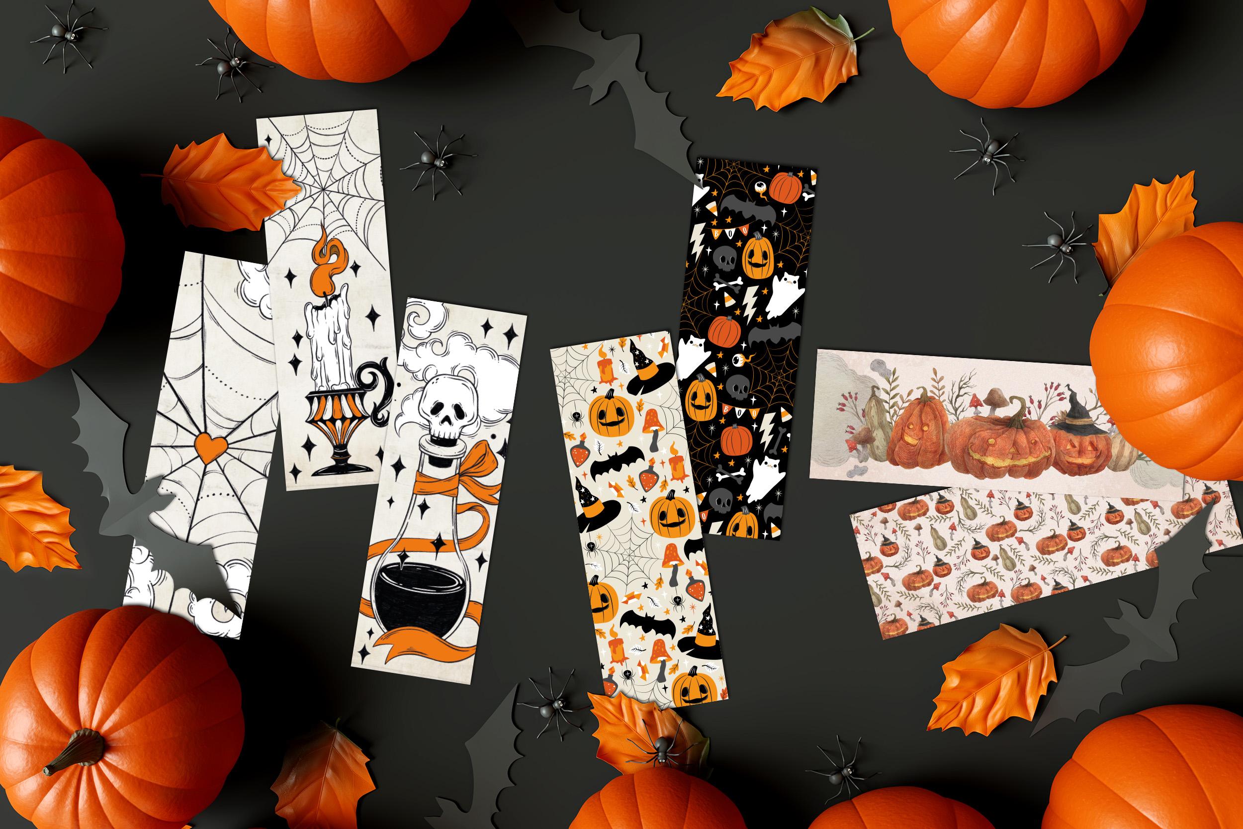 Oktoberdots Halloween boekenleggers collectie 2020