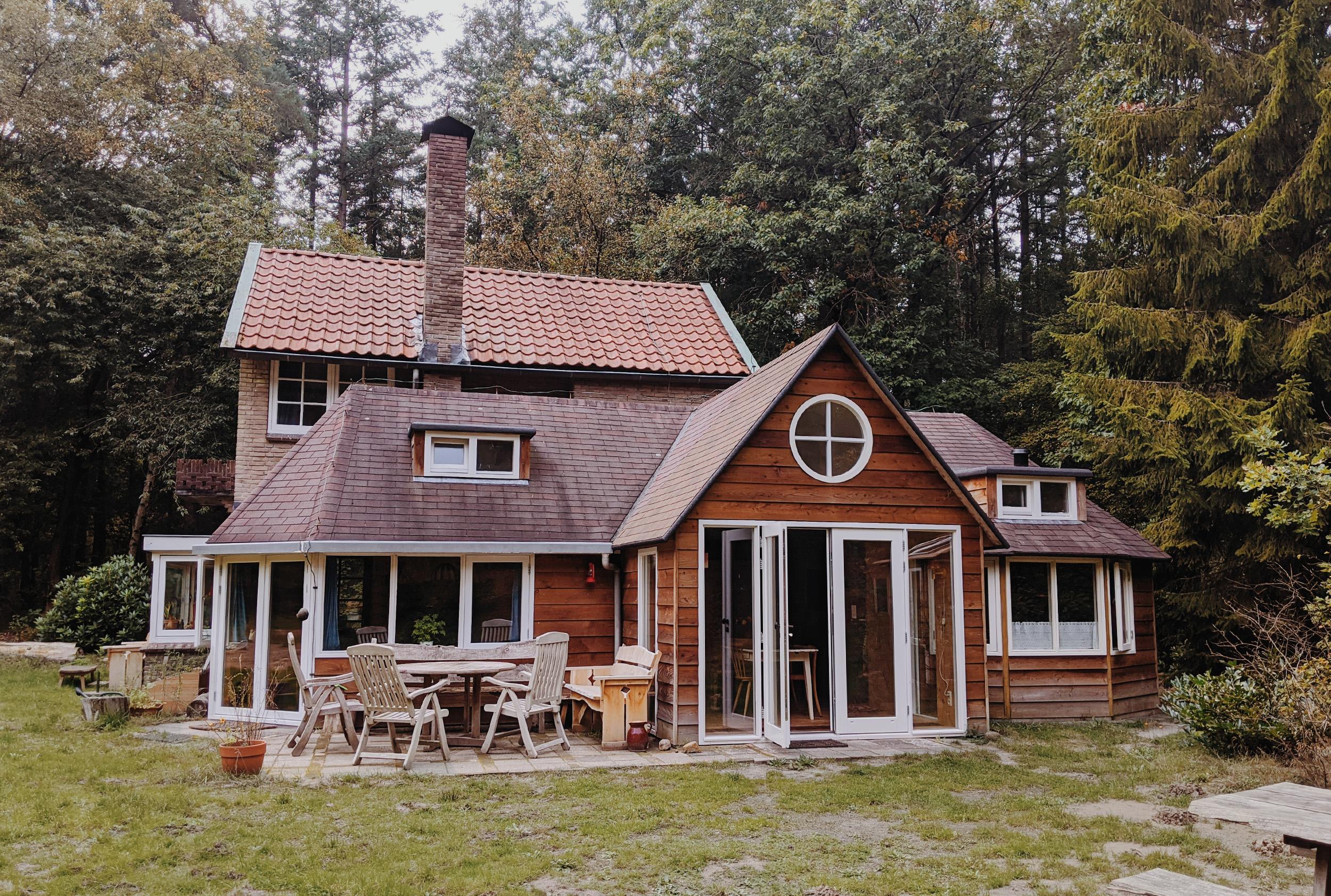oktoberdots Vakantie in een Boshuisje in Drenthe huren