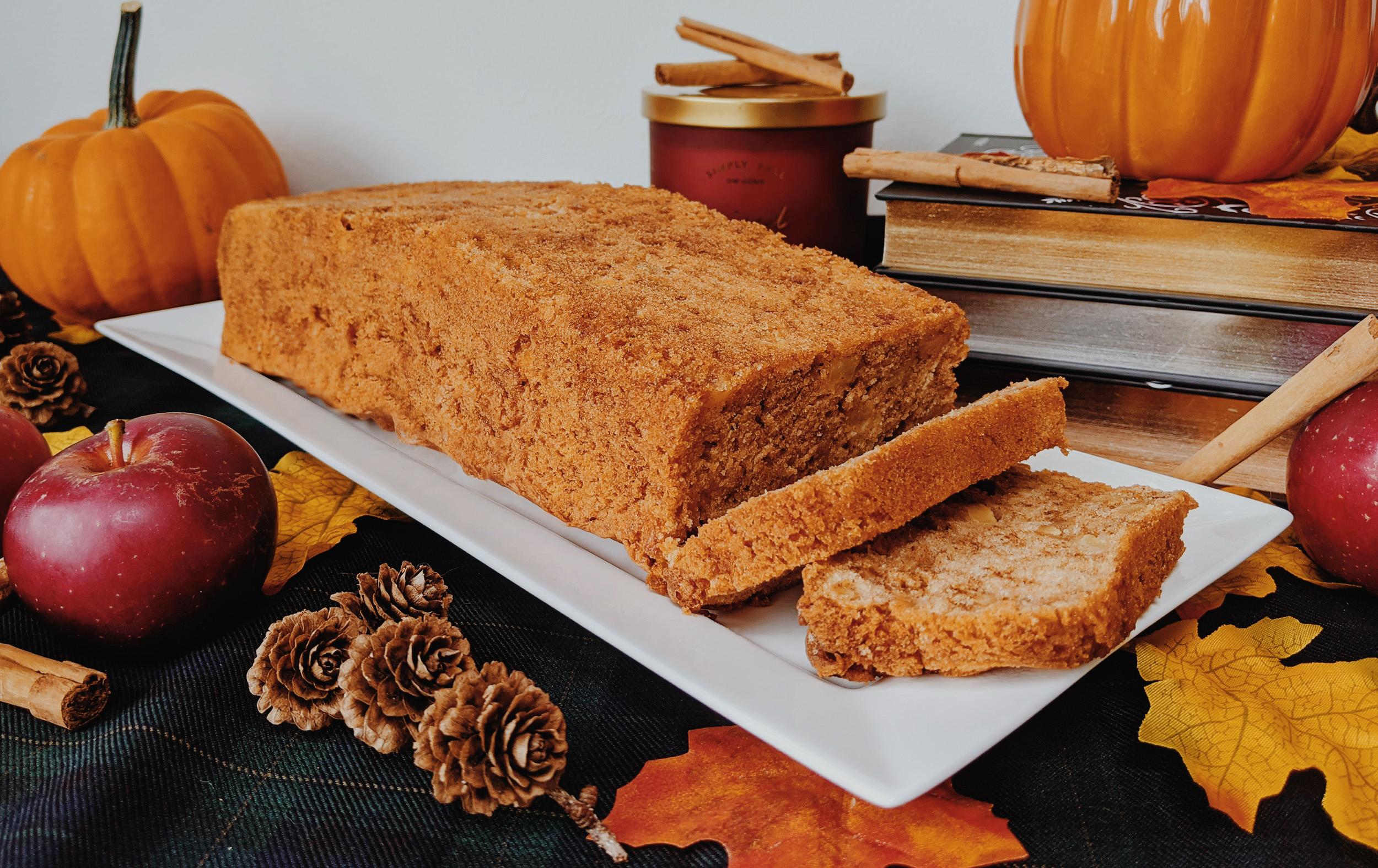 Oktoberdots appel & kaneel cake