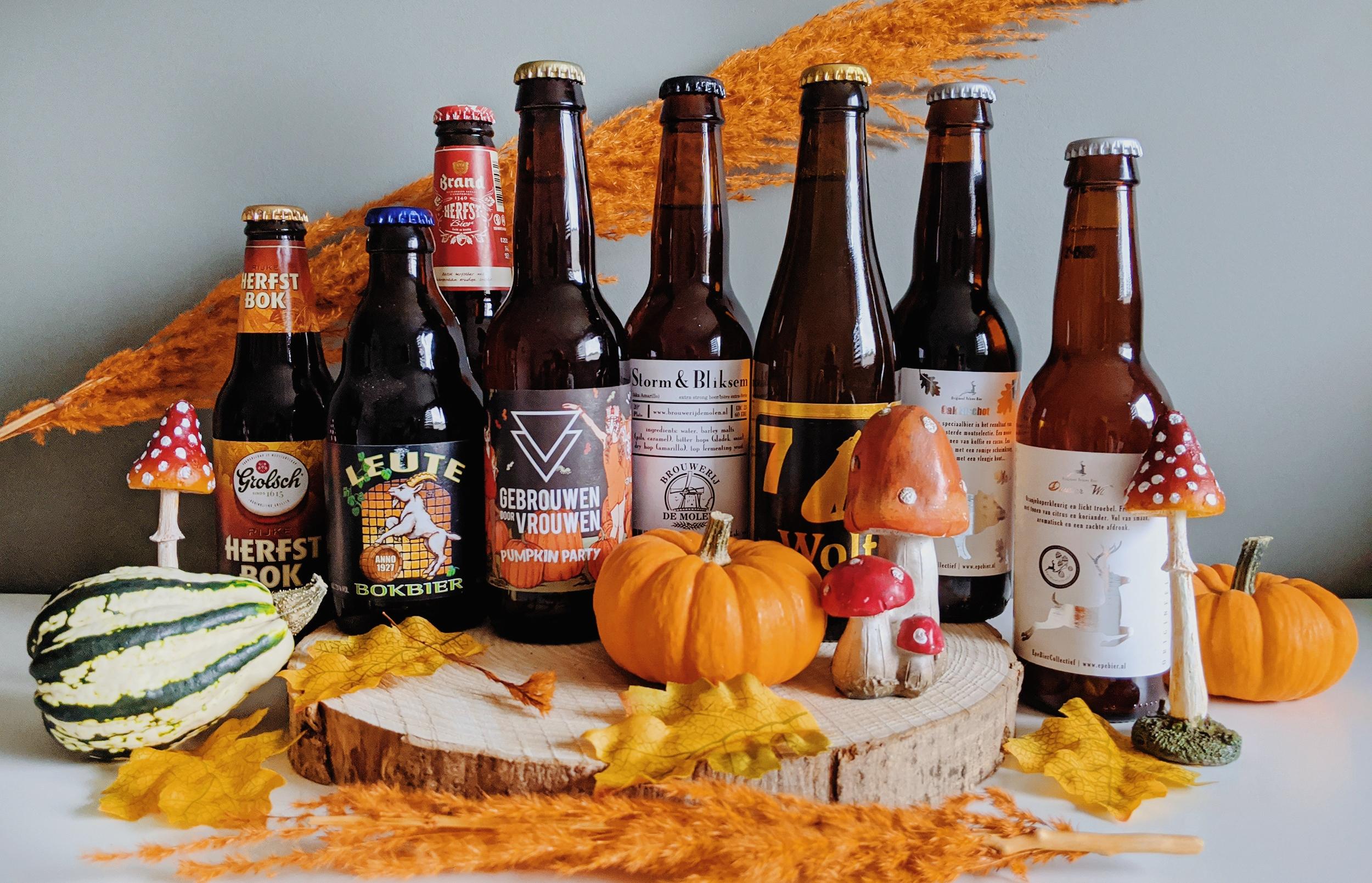 oktoberdots herfst bieren proeverij