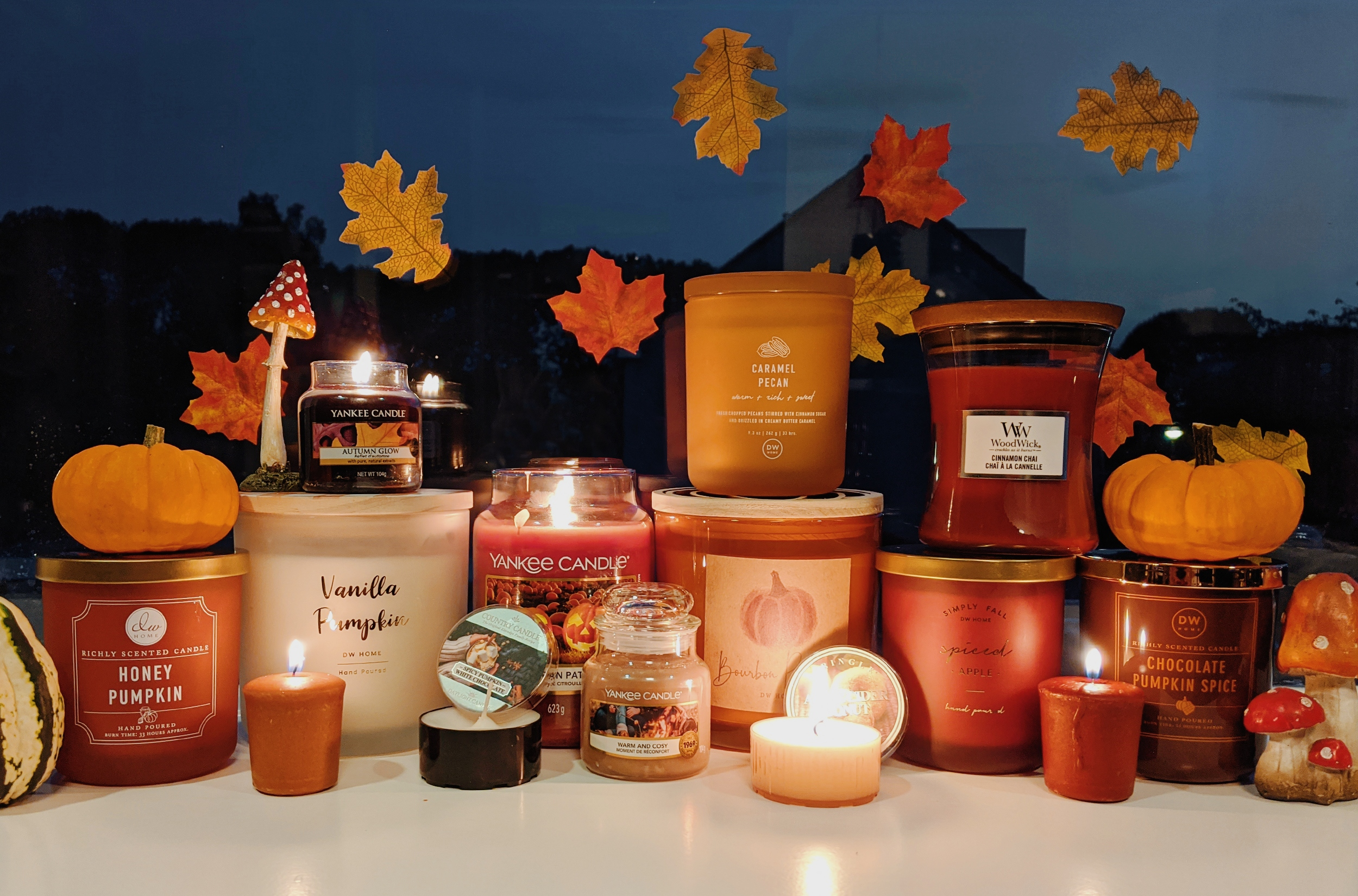 oktoberdots herfst kaarsen 2020