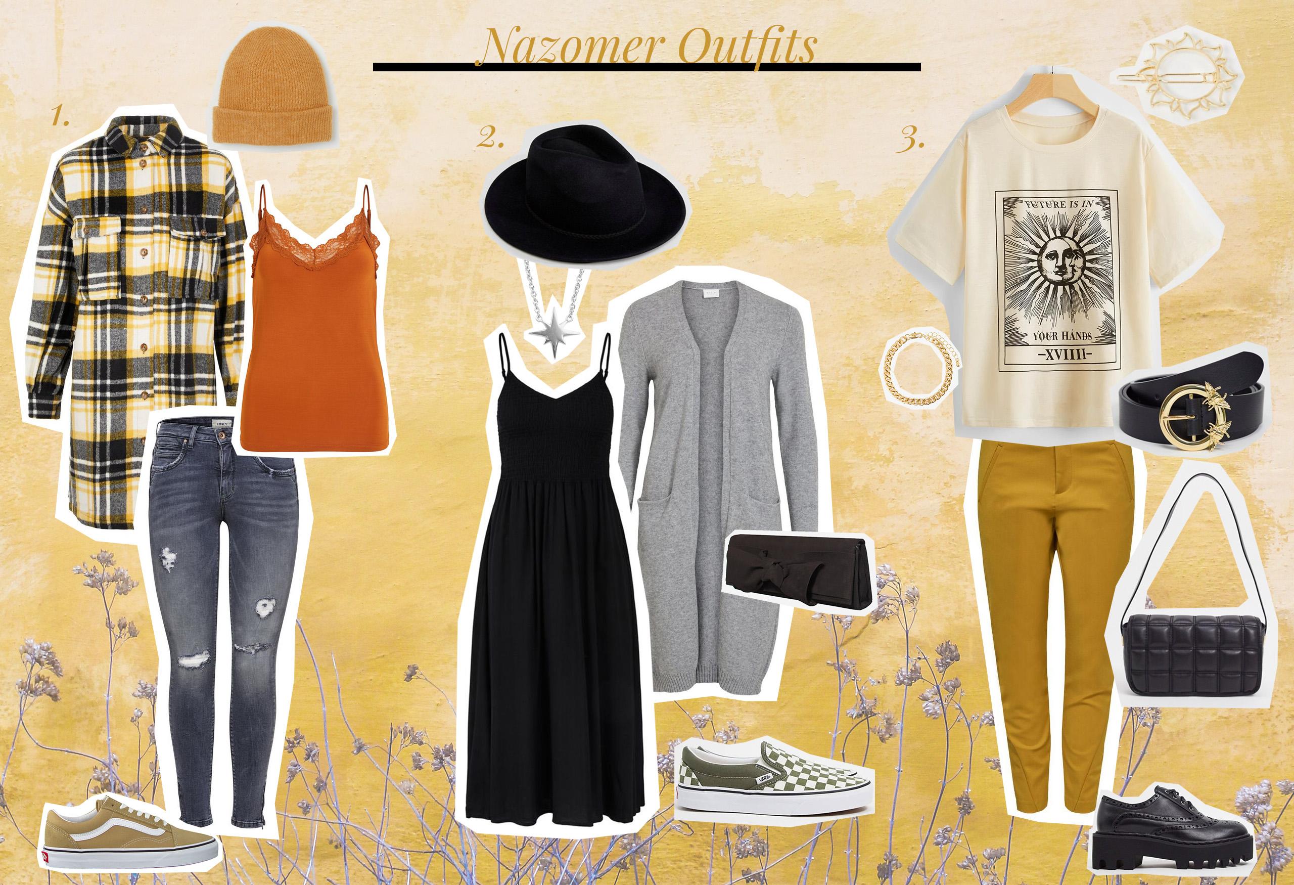 oktoberdots nazomer outfits